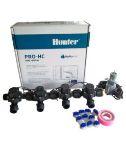 "Hunter 6 Station Pro-HC WiFi Irrigation*Outdoor*4x 3/4"" Solenoids,Free Rain Sensor"
