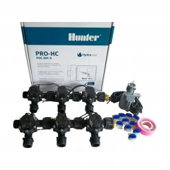 "Hunter 6 Station Pro-HC WiFi Irrigation*Outdoor*6x 3/4"" Solenoids,Free Rain Sensor"