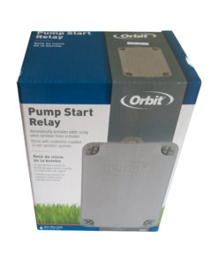 Orbit Pump Start Relay 2HP Single Phase 24VAC - Use with Irrigation Controller
