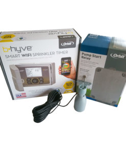 Orbit B-Hyve 12 Station WiFi Irrigation Controller & Pump Start Relay,Free Rain Sensor