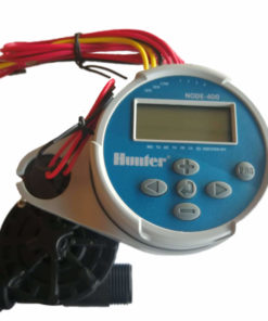 Hunter NODE 400 Kit - Solenoids,3M Connectors,Rain Sensor, 9V Battery Operated
