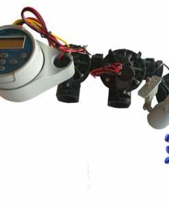 Hunter NODE 200 Kit - Solenoids,3M Connectors,Rain Sensor, 9V Battery Operated