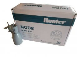 Hunter NODE 600-9V battery operated Irrigation Controller-Six Station - With Free Rain sensor