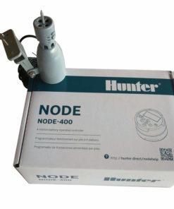 Hunter NODE 400 - 9V Battery Irrigation Controller-Four Station-Free Rain sensor