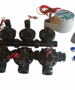 Hunter NODE 600 Kit - Solenoids,3M Connectors,Rain Sensor, 9V Battery Operated