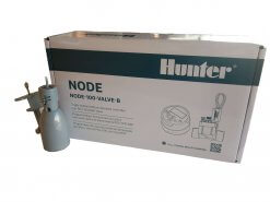 Hunter NODE 100-VALVE-B 9V Battery Operated Irrigation Controller-Single Station - With Free Rain sensor