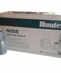 Hunter NODE 100-VALVE-B 9V Battery Operated Irrigation Controller-Single Station - With Free Rain sensor