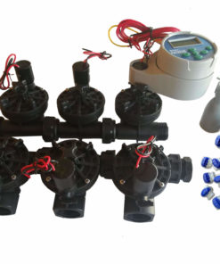 Hunter NODE 600 Kit - Solenoids,3M Connectors,Rain Sensor, 9V Battery Operated