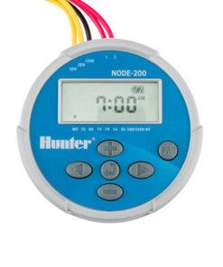 Hunter NODE 200 - 9V Battery Irrigation Controller-Two Station - Free Rain sensor