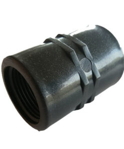 "Poly Coupling 3/4"" BSP Female x 3/4"" BSP Female - Irrigation/Garden"