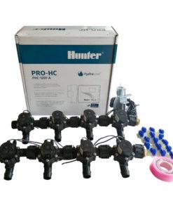 Hunter 12 Station Pro-HC WiFi Irrigation*Outdoor*8x 19mm Barb Solenoid,Free Rain Sensor