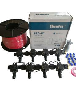 Hunter 12 Station Pro-HC WiFi Irrigation*Outdoor* 8 x 19mm Barb Solenoid,Wire,Sensor