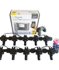 Orbit B-hyve WiFi Controller 12 Station-10 x 19mm Barb Solenoid Combo-Free Rain Sensor