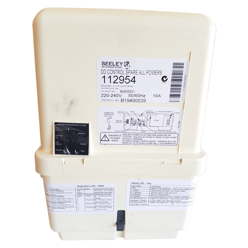 Breezair / Braemar Evaporative Cooler Icon Control Box CPMD DD2 suits EXH, EZH