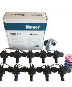 Hunter 12 Station Pro-HC WiFi Irrigation*Outdoor*10x 19mm Barb Solenoid,Free Rain Sensor