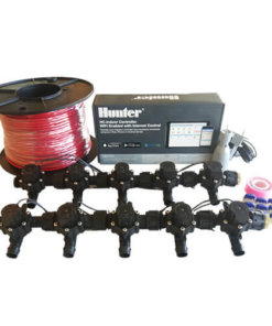 Hunter Hydrawise 12 Station WiFi Irrigation Combo-Qty 10 x 19mm Barb Solenoids,Rain Sensor&Wire