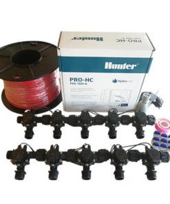 "Hunter 12 Station Pro-HC WiFi Irrigation*Outdoor* 10 x 3/4"" Solenoid,Wire,Sensor"