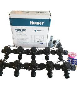 "Hunter 12 Station Pro-HC WiFi Irrigation*Outdoor*10x 3/4"" Solenoid,Free Rain Sensor"