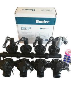Hunter 12 Station Pro-HC WiFi Irrigation*Outdoor*8x 25mm Solenoids,Free Rain Sensor