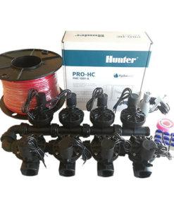 Hunter 12 Station Pro-HC WiFi Irrigation*Outdoor*8x 25mm Solenoids,Rain Sensor,Wire