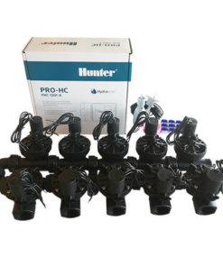 Hunter 12 Station Pro-HC WiFi Irrigation*Outdoor*10x 25mm Solenoids,Free Rain Sensor