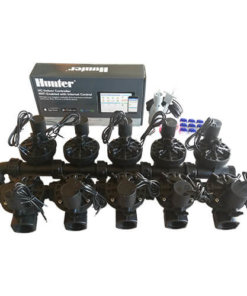 "Hunter Hydrawise 12 Station WiFi Irrigation Combo-Qty10 x 1""Solenoids&Rain Sensor"