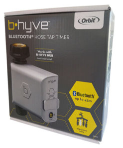 Orbit B-hyve Bluetooth Smart Watering Hose Faucet Timer-With water usage tracker