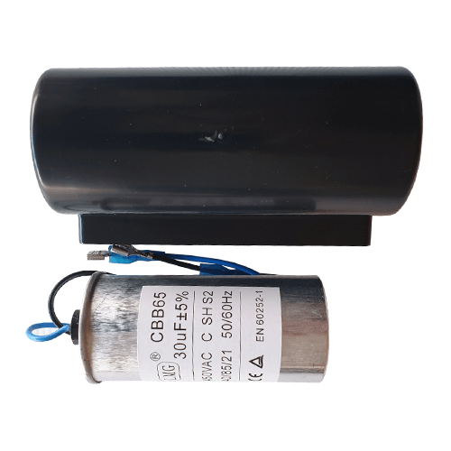 CoolBreeze 30uF Capacitor with Cover suits 750W & 1000W motors