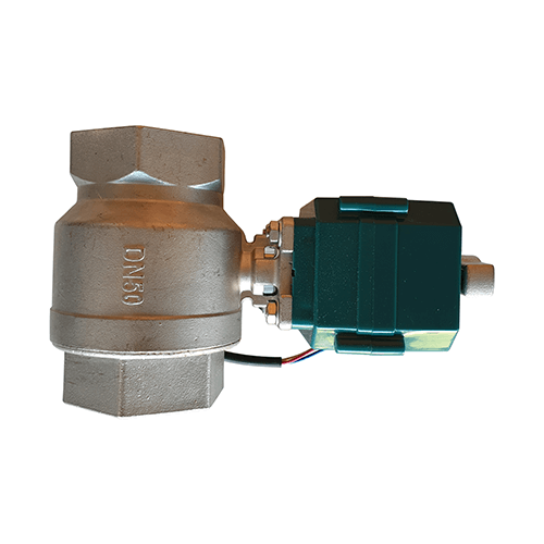 9-24VDC/ 9-24V DN50 50mm Motorised Ball Valve with Manual Override 3-wire with switch