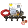"Orbit B-hyve WiFi Controller 4 Station-4x 3/4"" inch Manifold Solenoid Valves & Wire Combo -FreeSensor"