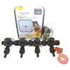 Orbit B-hyve WiFi Controller 4 Station-4x 13mm Barb Manifold Solenoid Valves Combo -FreeSensor