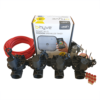 """Orbit B-hyve WiFi Controller 4 Station-4x 1"""" inch 25mm Manifold Solenoid Valves & Wire Combo -FreeSensor"""