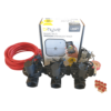 """Orbit B-hyve WiFi Controller 4 Station-3x 1"""" inch 25mm Manifold Solenoid Valves & Wire Combo -FreeSensor"""