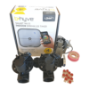 "Orbit B-hyve WiFi Controller 4 Station-2x 1"" inch 25mm Manifold Solenoid Valves Combo -FreeSensor"