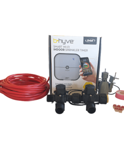 "Orbit B-hyve WiFi Controller 4 Station-2x 3/4"" inch Manifold Solenoid Valves & Wire Combo -FreeSensor"