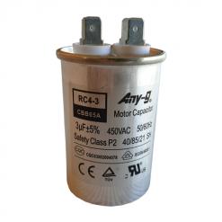 3uF (3MFD) Capacitor 450VAC