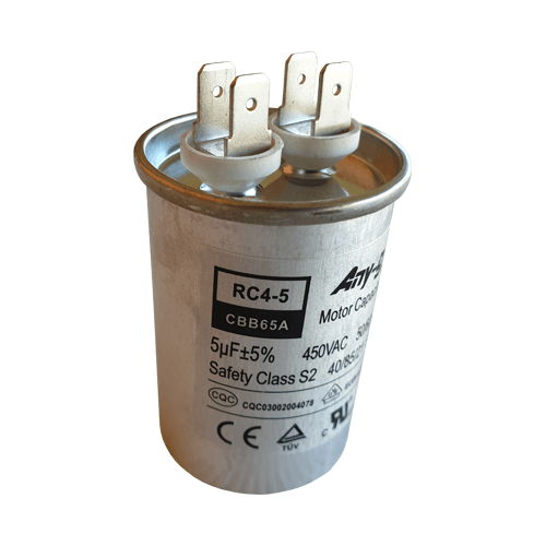 5uF (5MFD) Capacitor 450VAC