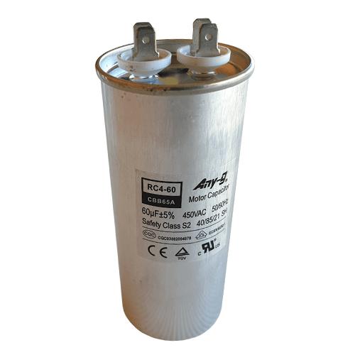 60uF (60MFD) Capacitor 450VAC