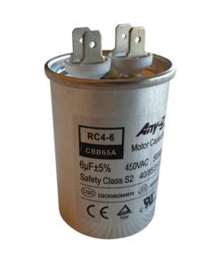 6uF (6MFD) Capacitor 450VAC