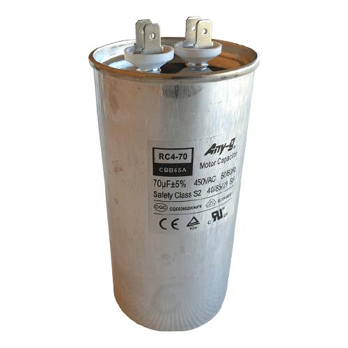 70uF (70MFD) Capacitor 450VAC