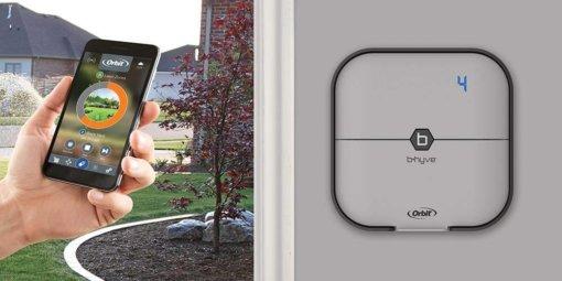 Orbit Bhyve 4 Station Indoor WiFi Irrigation Controller #96915 -Free Rain Sensor