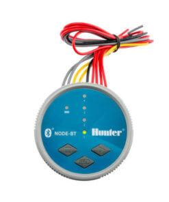 Hunter NODE BT 400 (Bluetooth) 9V Battery Irrigation Controller-Four Station -with Free Rain sensor